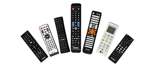 ریموت کنترل تلویزیون