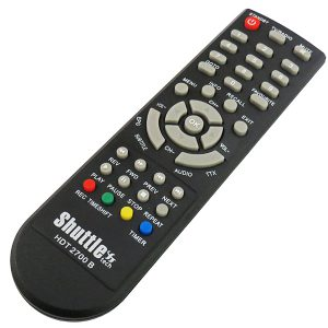 کنترل گیرنده ی دیجیتال شاتل 2700