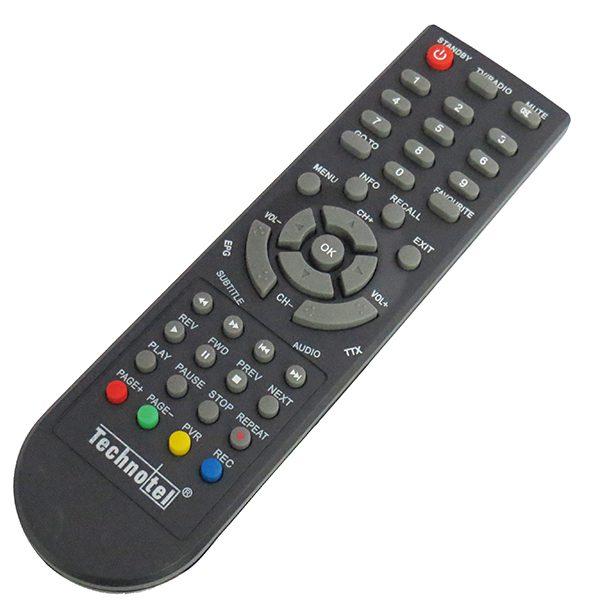 ریموت کنترل گیرنده دیجیتال تکنوتل technotel