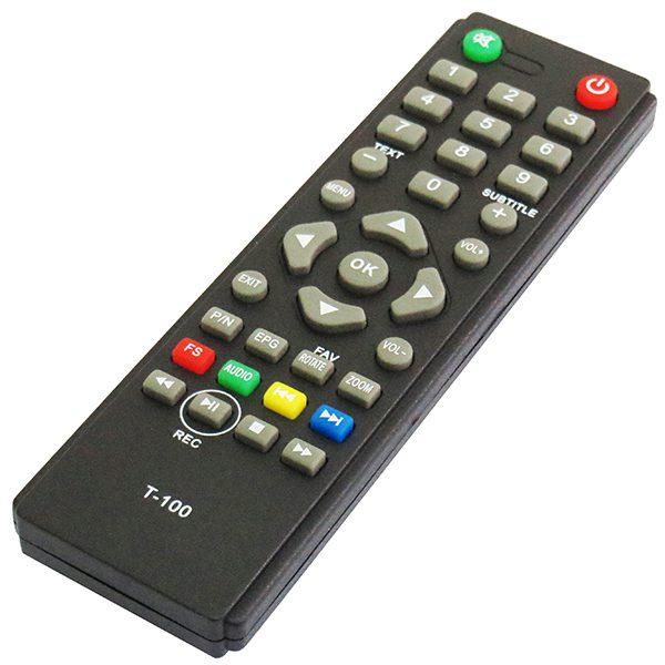 کنترل گیرنده دیجیتال استارست t100