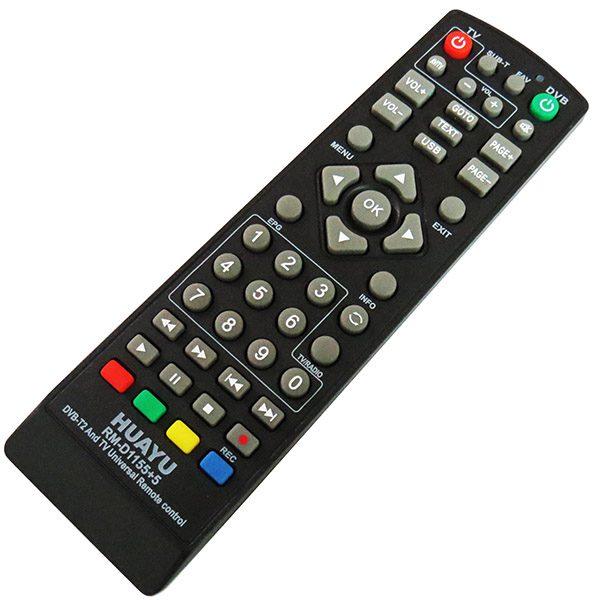 کنترل همه کاره گیرنده دیجیتال huayo