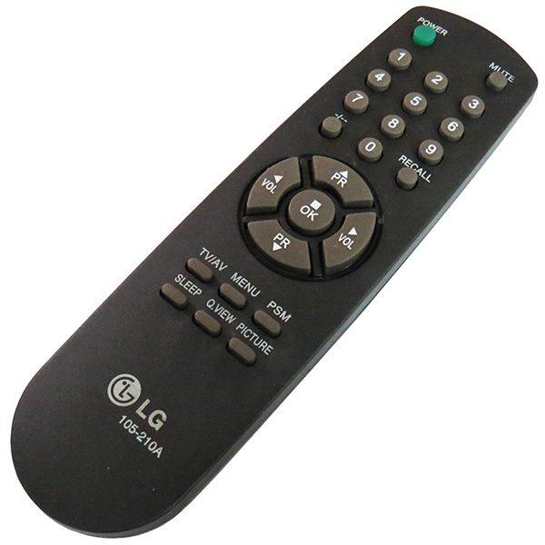 ریموت کنترل تلویزیون ال جی 230A 210A RECALL LG