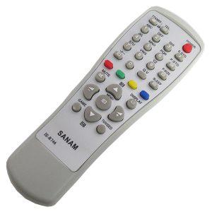ریموت کنترل تلویزیون صنام 746