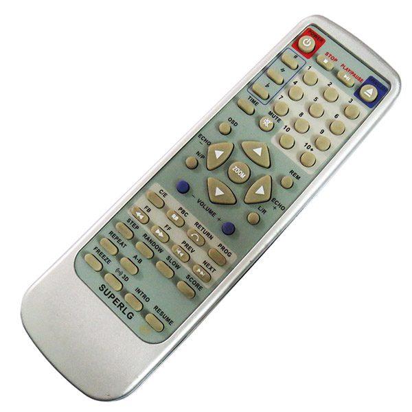 ریموت کنترل دی وی دی سوپر ال جی SUPERLG DVD