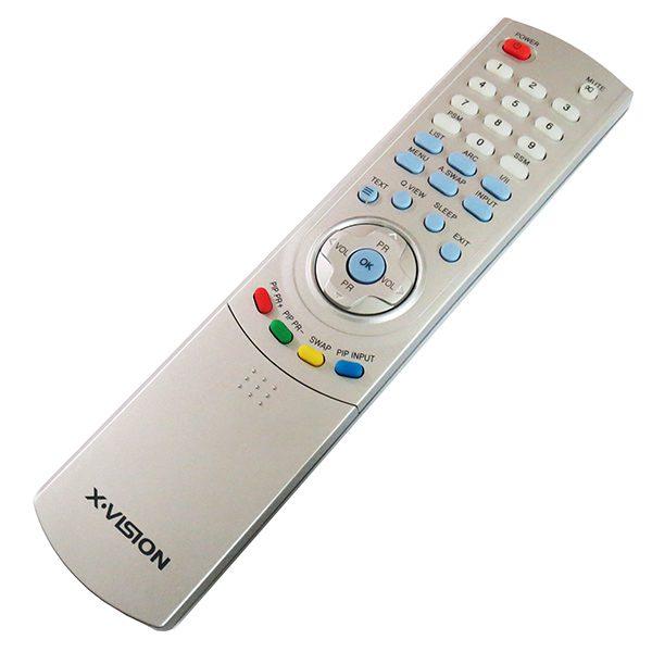 ریموت کنترل تلویزیون ال سی دی ایکس ویژن LCD XVISION