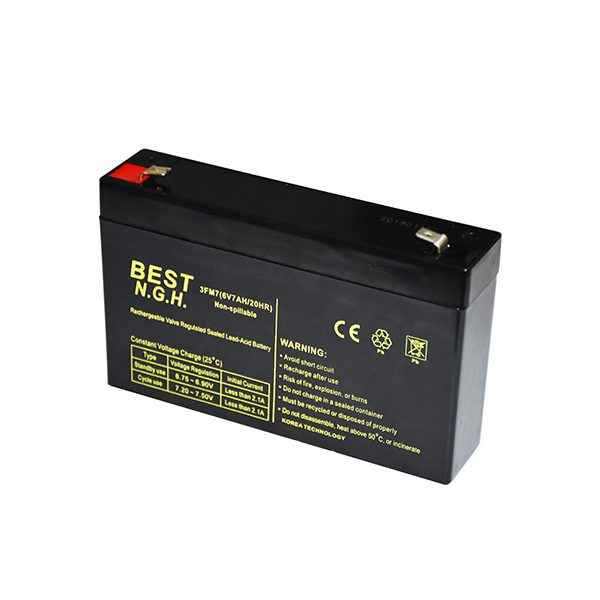 باتری 6 ولت 7 آمپر