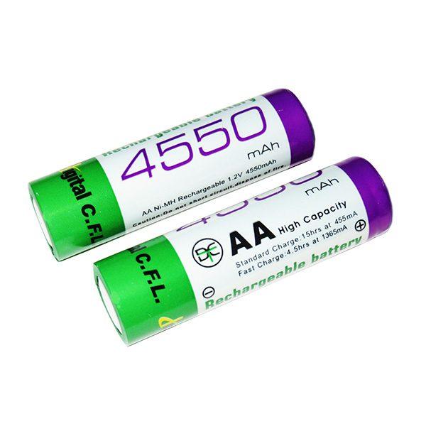 باتری شارژی قلمی 4550MAH CFL