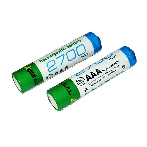باتری نیم قلمی 2700 میلی آمپر
