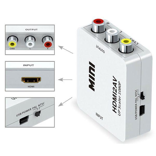 تبدیل HDMI به AV