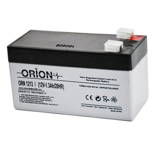 باتری خشک 12 ولت 1.3 آمپر ساعت ORION
