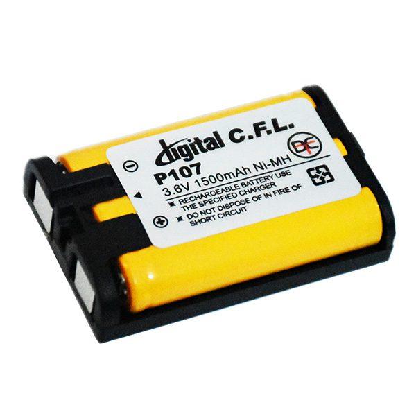 باتری تلفنی 3.6 ولت 1500 میلی آمپر CFL P107