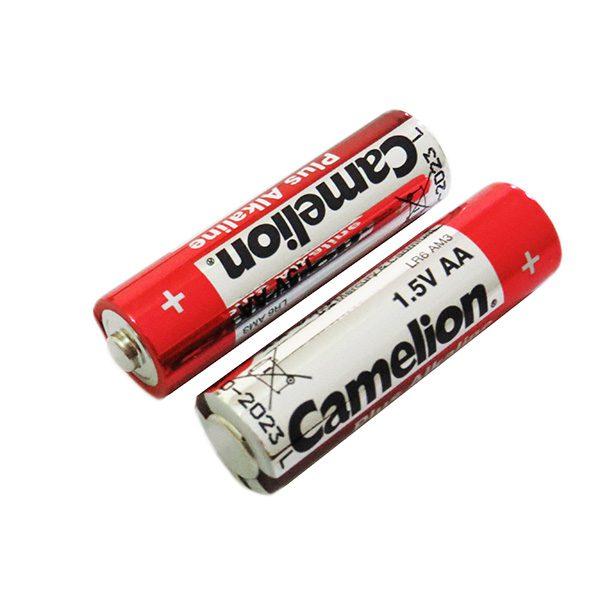 باتری آلکالاین نیم قلمی کملیون 2 عددی