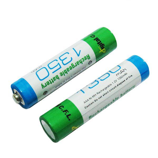 باتری نیم قلمی شارژی نیکل متال 1350mAh CFL