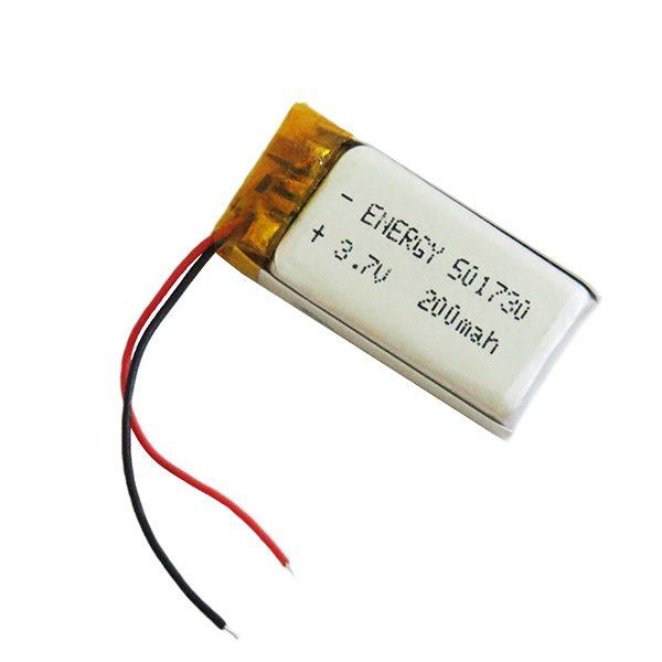 باتری لیتیوم آدامسی 200 میلی آمپر ساعت