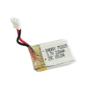 باتری لیتیوم پلیمر کوچک 3.7V 220mAh