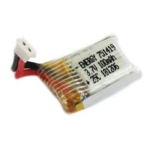 باتری لیتیوم پلیمری کوچک 100mAh