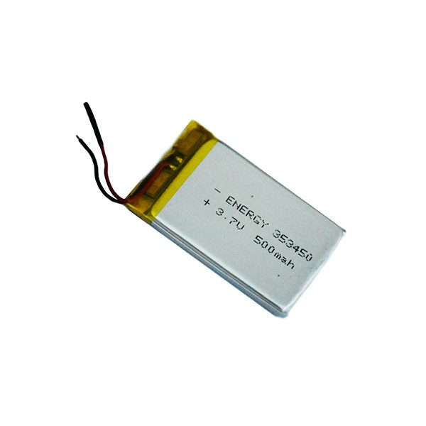 باتری لیتیوم 3.7 ولت 500 میلی آمپر