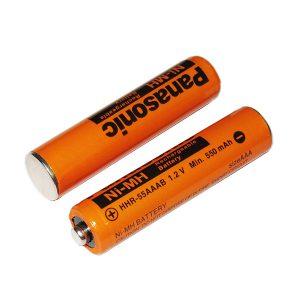 باتری نیم قلمی شارژی پاناسونیک 550mAh
