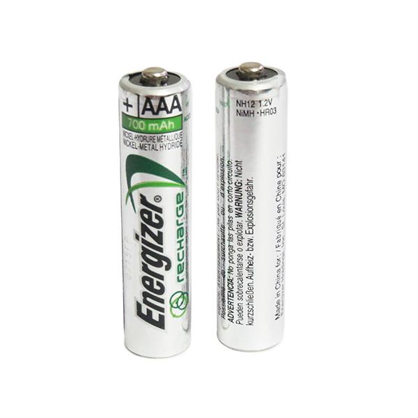 باتری نیم قلمی شارژی NI-MH 1.2V 700MAH   تک الکترونیک