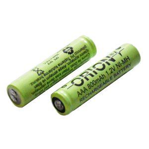 باتری NI-MH نیم قلمی 800 میلی آمپر