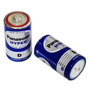 باتری بزرگ سایز D پاناسونیک 1.5 ولت