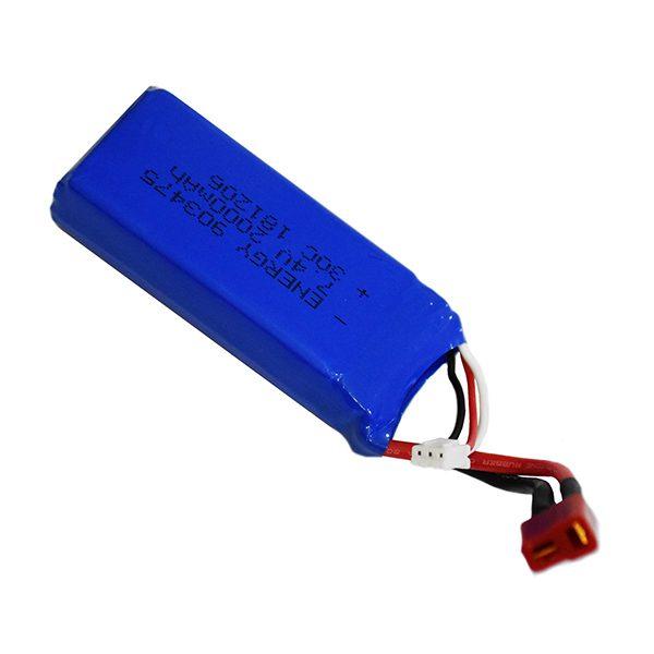 باتری لیتیوم پلیمر 7.4 ولت 2000mAh