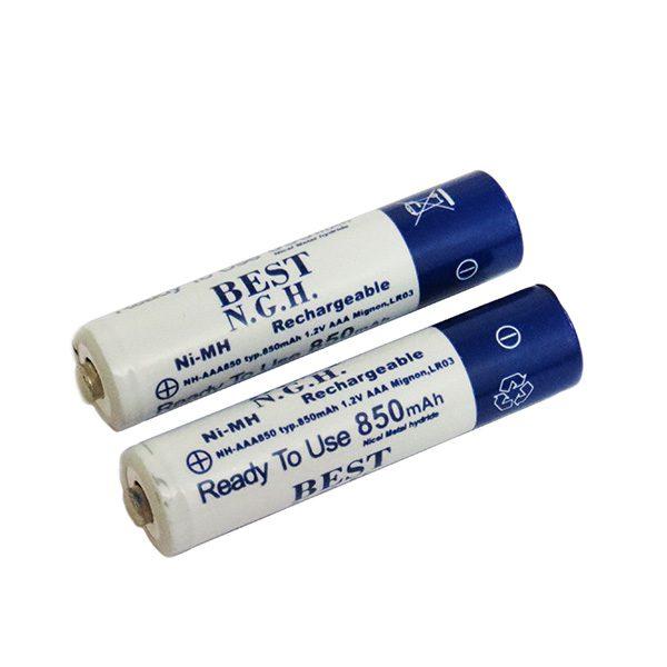 باتری نیکل متال نیم قلمی 850 میلی آمپر