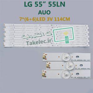 بک لایت ال جی 55LN پنل AUO