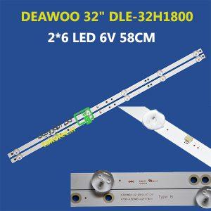 بک لایت تلویزیون دوو 32 اینچ DLE-32H1800