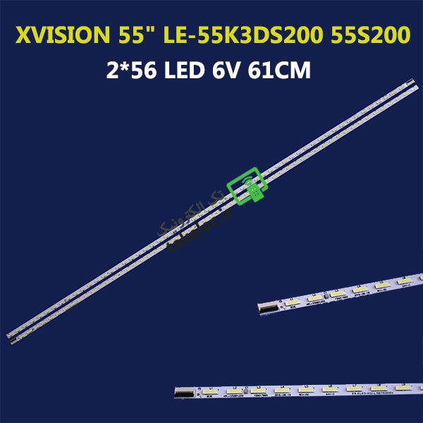 بک لایت تلویزیون 55 اینچ ایکس ویژن LE-55K3DS200 55S200