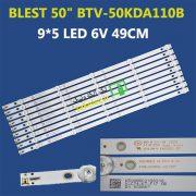 بک لایت تلویزیون 50 اینچ بلست BTV-50KDA110B