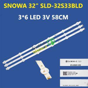 بک لایت اسنوا 32 اینچ SLD-32S33BLD