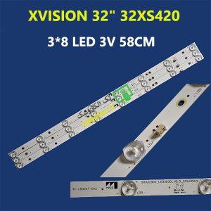 بک لایت ایکس ویژن 32 اینچ 32XS420