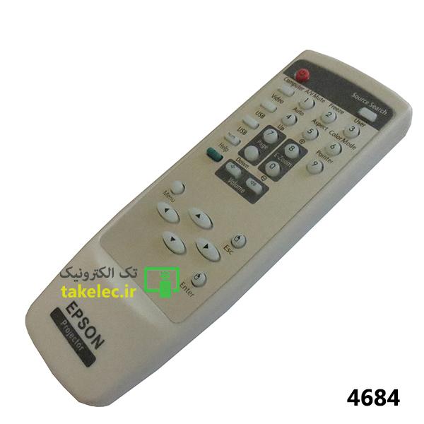 کنترل ویدئو پروژکتور EPSON