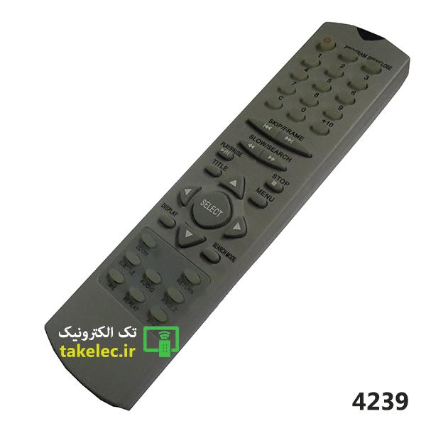 کنترل DVD طوسی کد 52