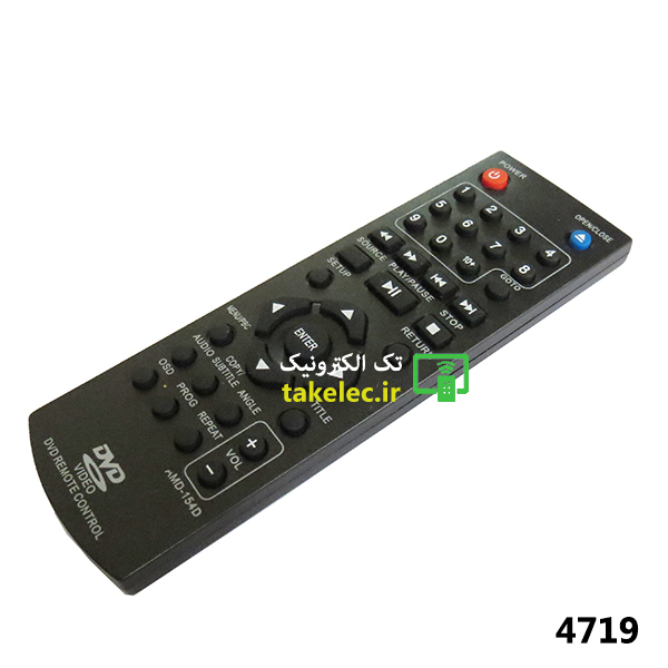 کنترل LG DVD کوتاه 154D